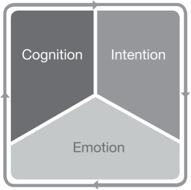 Integrated Learning:  Cognition, Intention and Emotion are in sync